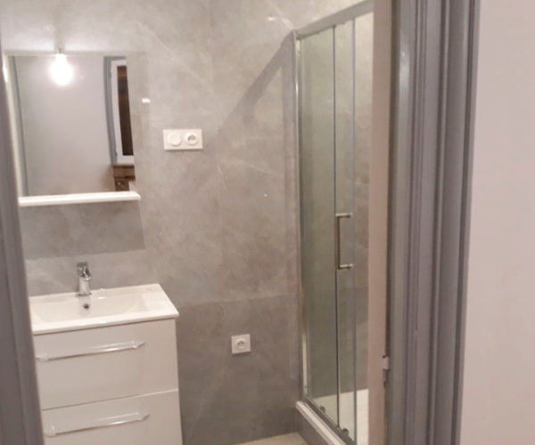 Reforma baños en Pamplona